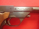 "High Standard Supermatic Tournament Model 107 Military .22LR 5.5"" Barrel Semi Auto Pistol w/Two Mags 1967-68mfg - 4 of 21"