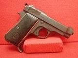"Beretta Model 1934 .32Auto 3-3/8"" Barrel Semi Auto Pistol 1944mfg WWII Italian Service pistol"