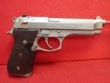 """Beretta 92FS Inox 9mm 4.9"""" Barrel Stainless Steel Semi Automatic Pistol w/15rd Mag"""