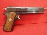 "Colt Government Model MKIV Series 70 .45ACP 5"" Barrel Blued Finish 1976mfg w/Colt Magazine"