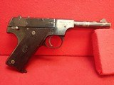"High Standard Mfg. Co. Model B ""Property of US"" .22LR 4.5"" Barrel Semi Auto Pistol 1942-43mfg"