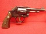 "Smith & Wesson .38 Military & Police Pre-Model 10 .38spl 4"" Barrel Blued Finish 1956mfg 4-Screw Frame"