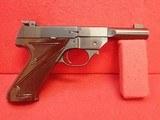 "High Standard Field King .22LR 4.5""bbl Semi Auto Target Pistol Early Prod. New Haven Address"