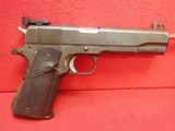 "Remington-Rand 1911A1 Alton Dinan Custom Bullseye Wadcutter .45ACP 5""bbl Semi Auto Pistol SOLD"