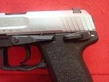 "Heckler & Koch USP 40 Compact Stainless Steel .40S&W 3.5"" Barrel Semi Auto Pistol w/Factory Case, 1997mfg **SOLD** - 7 of 17"