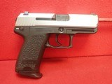 "Heckler & Koch USP 40 Compact Stainless Steel .40S&W 3.5"" Barrel Semi Auto Pistol w/Factory Case, 1997mfg SOLD"