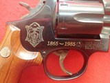 "Massachusetts State Police 120 Year Commemorative Smith & Wesson Model 586 Distinguished Combat Magnum .357Mag 6"" Barrel - 3 of 23"