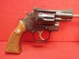 "Smith & Wesson Model 15-3 (K-38 Combat Masterpiece) .38spl 2""bbl Blue Finish 1977mfg All Matching, LNIB"