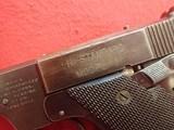 "High Standard Model B .22LR 4.5"" Barrel Semi Automatic Pistol, Blued Finish, Type II Takedown WWIImfg - 9 of 19"