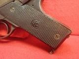 "High Standard Model B .22LR 4.5"" Barrel Semi Automatic Pistol, Blued Finish, Type II Takedown WWIImfg - 7 of 19"