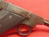 "High Standard Model B .22LR 4.5"" Barrel Semi Automatic Pistol, Blued Finish, Type II Takedown WWIImfg - 4 of 19"