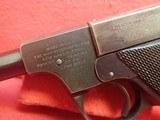 "High Standard Model B .22LR 4.5"" Barrel Semi Automatic Pistol, Blued Finish, Type II Takedown WWIImfg - 10 of 19"