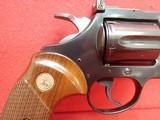 """Colt Diamondback .22LR 6"""" Barrel Revolver Blued Finish 1981mfg - 3 of 23"""