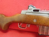 """Ruger Mini-14 .223Rem 18"""" Stainless Steel Semi Auto Rifle w/Hardwood Stock, 10rd Mag 1983mfg - 3 of 17"""