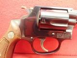 "Smith & Wesson Model 36 .38 Special 2"" Barrel Blued Finish J-Frame Round Butt Revolver 1967-68mfg - 3 of 16"
