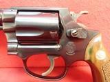 "Smith & Wesson Model 36 .38 Special 2"" Barrel Blued Finish J-Frame Round Butt Revolver 1967-68mfg - 8 of 16"