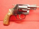 "Smith & Wesson Model 36 .38 Special 2"" Barrel Blued Finish J-Frame Round Butt Revolver 1967-68mfg"