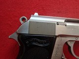 """Walther (Interarms) PPK .380ACP 3.3"""" Barrel Stainless Steel Made In USA Semi Automatic Pistol - 3 of 16"""