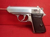 """Walther (Interarms) PPK .380ACP 3.3"""" Barrel Stainless Steel Made In USA Semi Automatic Pistol - 6 of 16"""
