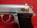 """Walther (Interarms) PPK .380ACP 3.3"""" Barrel Stainless Steel Made In USA Semi Automatic Pistol - 8 of 16"""