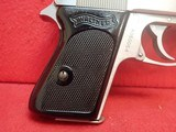 """Walther (Interarms) PPK .380ACP 3.3"""" Barrel Stainless Steel Made In USA Semi Automatic Pistol - 2 of 16"""