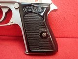 """Walther (Interarms) PPK .380ACP 3.3"""" Barrel Stainless Steel Made In USA Semi Automatic Pistol - 7 of 16"""
