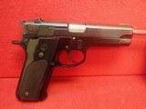 """Smith & Wesson Model 59 9mm 4"""" Barrel Blue Finish w/14rd Magazine 1981mfg"""