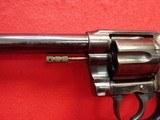 "Colt New Service .38 WCF 7.5"" Barrel Blued Finish First Model Flat Latch Revolver 1907mfg - 10 of 22"