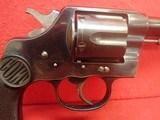 "Colt New Service .38 WCF 7.5"" Barrel Blued Finish First Model Flat Latch Revolver 1907mfg - 3 of 22"