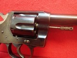 "Colt New Service .38 WCF 7.5"" Barrel Blued Finish First Model Flat Latch Revolver 1907mfg - 4 of 22"