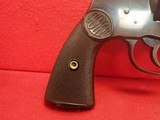 "Colt New Service .38 WCF 7.5"" Barrel Blued Finish First Model Flat Latch Revolver 1907mfg - 2 of 22"