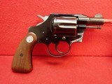 "Colt Cobra .38 Special 2"" Barrel Blued First Issue Revolver 1956mfg w/ Matching Grips"