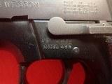 "Smith & Wesson Model 469 ""Mini"" 9mm 3.5"" Barrel Sandblast Blue Finish 1983mfg First Year Production - 9 of 15"
