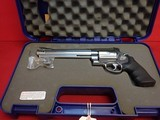 """Smith & Wesson Model 460XVR .460S&W 8-3/8"""" Ported Barrel Stainless Steel X-Frame Revolver w/ Box, Papers - 17 of 19"""
