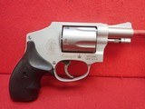 """Smith & Wesson 642-2 Airweight .38Spl 2"""" Barrel Stainless Steel/Alloy J-Frame Compact Revolver"""