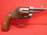 "Colt New Pocket .32 Caliber 2.5"" Barrel Double/Single Action Blued Finish Revolver 1899mfg"