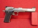 "AMT Automag II .22WMR 6"" Barrel Stainless Steel Semi Automatic Pistol, 1987-2001mfg"