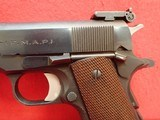 "Argentine DGFM (FMAP) Sist. Colt 1927 (Licensed Colt Copy) 1911A1 .45ACP (11.25mm) 5"" Barrel Semi Auto Pistol ***SOLD*** - 8 of 21"