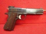 "Argentine DGFM (FMAP) Sist. Colt 1927 (Licensed Colt Copy) 1911A1 .45ACP (11.25mm) 5"" Barrel Semi Auto Pistol ***SOLD*** - 1 of 21"