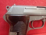 "Czech CZ52 (vz52) 7.62x25 Tokarev 4.5"" Barrel Cold War Semi Auto Pistol - 3 of 20"