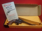 "Ruger New Model Single Six Bisley Model .22LR 6.5"" Barrel Single Action Revolver w/Factory Box, 1986mfg - 20 of 21"