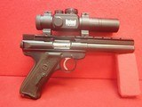 "Ruger Mark II .22LR 5.5"" Bull Barrel Semi Auto Target Pistol w/ Bushnell Red Dot, Two Mags, Factory Box"