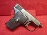 "Harrington & Richardson Self Loading .25ACP 2"" Barrel Semi Automatic Pistol 1912-1920mfg C&R OK"