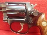 "Smith & Wesson Model 36 .38spl 2"" Barrel Blues J-Frame Square Butt 1973-74mfg - 9 of 21"
