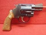 "Smith & Wesson Model 36 .38spl 2"" Barrel Blues J-Frame Square Butt 1973-74mfg - 1 of 21"