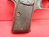 """FN Fabrique Nationale Browning Model 1910 .32ACP 3.5"""" Barrel Semi Automatic Pistol - 2 of 21"""