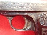 """FN Fabrique Nationale Browning Model 1910 .32ACP 3.5"""" Barrel Semi Automatic Pistol - 9 of 21"""