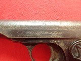 """FN Fabrique Nationale Browning Model 1910 .32ACP 3.5"""" Barrel Semi Automatic Pistol - 10 of 21"""