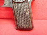 """FN Fabrique Nationale Browning Model 1910 .32ACP 3.5"""" Barrel Semi Automatic Pistol - 7 of 21"""