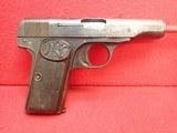 "FN Fabrique Nationale Browning Model 1910 .32ACP 3.5"" Barrel Semi Automatic Pistol"